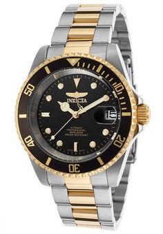 Invicta Hombre 8927OB Pro diver Reloj Acero inoxidable Negro