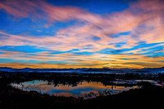 Lake Murray from Mission Trails Regional Park, shot by David McCurry. #PicturePerfect