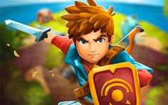 Oceanhorn is my favourite iOS game at the moment. It is like the classic Nintendo Zelda games.
