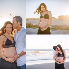 This beautiful couple used their mini-session as a quick maternity shoot!  #erinstackhousephotography #maternityphotography #ameliaislandphotographer