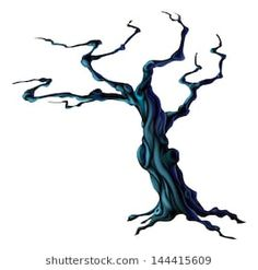 Find Illustration Bare Spooky Scary Halloween Tree stock images in HD and millions of other royalty-free stock photos, illustrations and vectors in the Shutterstock collection. Haunted Tree, Haunted Woods, Spooky Trees, Halloween Trees, Spooky Scary, Scary Halloween, Halloween Cards, Wes Anderson Poster, Tree Branch Tattoo