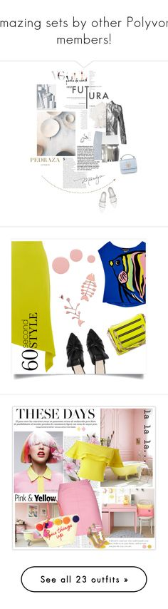 """""""Amazing sets by other Polyvore members!"""" by sunnydays4everkh ❤ liked on Polyvore featuring McQ by Alexander McQueen, Jennifer Fisher, Roberto Cavalli, PedrazaLondon, Pedraza, Warehouse, Boutique Moschino, Rebecca Minkoff, Lauren B. Beauty and Tory Burch"""