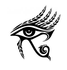 Kuvahaun tulos haulle eye of horus tattoo Egyptian Symbols, Ancient Symbols, Egyptian Art, Ancient Egypt, Egyptian Mythology, Egyptian Goddess, Ancient Art, Ancient History, God Tattoos