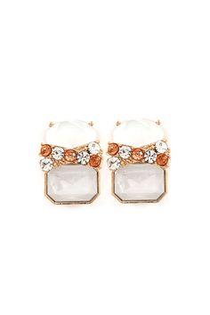 Daphne Earrings in Aspen Ivory