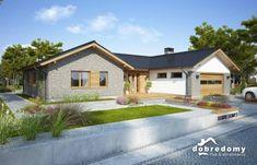 Nevada - Dobre Domy Flak & Abramowicz Nevada, Modern Bungalow House, Story House, Home Fashion, Cabin, Mansions, House Styles, Home Decor, Prefab Homes