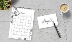 kalendarz planer ścienny 2017