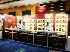 Exhibition Stand for Sri Sai Krishna Jewellers. Know our range of Exhibition Products http://www.expodisplayservice.ae/allproducts.asp