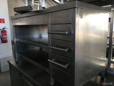 Nerezový stôl so šuflíkmi- gastro Lockers, Locker Storage, Cabinet, Furniture, Home Decor, Clothes Stand, Decoration Home, Room Decor, Closet
