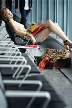 Photo By Raymond Meier Travel Chic, Luxury Travel, Travel Style, Travel Tips, Raymond Meier, Chanel Store, Airport Style, Airport Chic, Material Girls