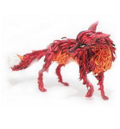 Feuer Fuchs Abbildung, Fox