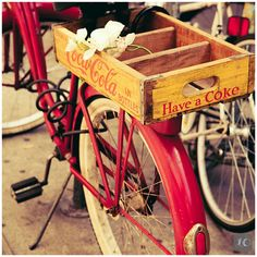 Can you just picture a Glitter Farm crate on the back of your Cruiser bicycle? I wish for both!!!