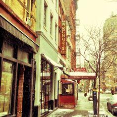 West Village Winter #greenwichvillage #nyc #snow #snowdusting #westvillage #iconicnyc