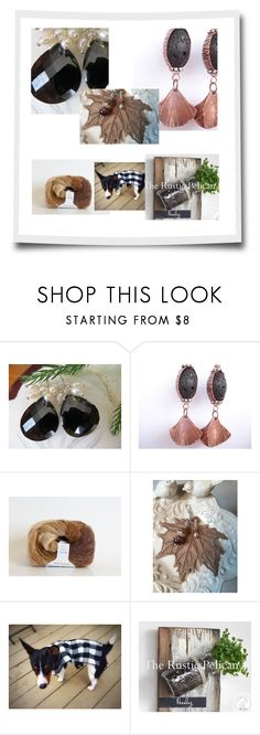"""""""By The Rustic Pelican"""" by therusticpelican ❤ liked on Polyvore featuring Tela Beauty Organics, modern, contemporary, rustic and vintage"""