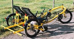 Side-by-side recumbent tandem: the 2Can