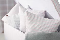 Vankúše z kolekcie tkanín Rustica.  #rustica#vankuse#spalna#obyvacka Bed Pillows, Pillow Cases, Fabric, Pillows, Tejido, Tela, Cloths, Fabrics, Tejidos