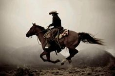Real men ride horses...hot men wear cowboy hats