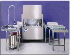 Full warewashing system with Conveyor Dishwasher