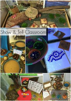 Show and Tell Classroom - take a tour around Mrs Bosman's inspiring Kindergarten Classroom on Learning 4 Kids