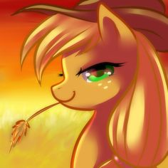 Beautiful Applejack art.