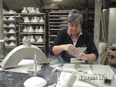Tantalizing Teapots 2, cool handbuilding, extruder video