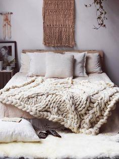 Giganto-blanket pattern