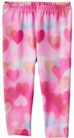 c4a8327ea336d Jumping Beans kids girls pink heart print photo graphic leggings pants 5  #fashion #clothing #shoes #accessories #kidsclothingshoesaccs ...