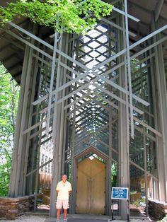 Thorncrown Chapel, Fayetteville, Arkansas, Faye Jones Architect