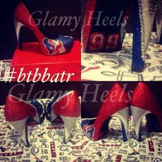 These Glamy Heels are awesome! A must have for sports fans... must Place an order for the coming football season. #glamyheels