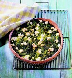 Spinazie en ricotta quiche Ricotta, Green Beans, Fruit, Vegetables, Food, Saturday Night, Asparagus, Essen, Vegetable Recipes