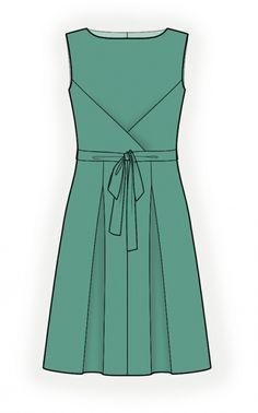 Kleid - Schnittmuster #4356