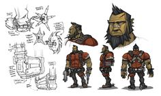 A Guided Tour Of Borderlands 2 Concept Art - Features - www.GameInformer.com