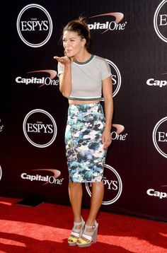 Jessica Szohr | 26 People Who Totally Rocked The 2014 ESPYS Red Carpet