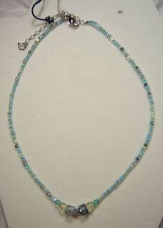 NEW Czech Necklace Bohemian Designer Bead Vintage Silver Plated #BijouxdeBohemeExclusiveofJablonexCoRetired #BohemianNecklace