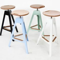 Bon Contemporary Bar Stool / Metal / Garden   By Luca Pegolo   Nautinox Living