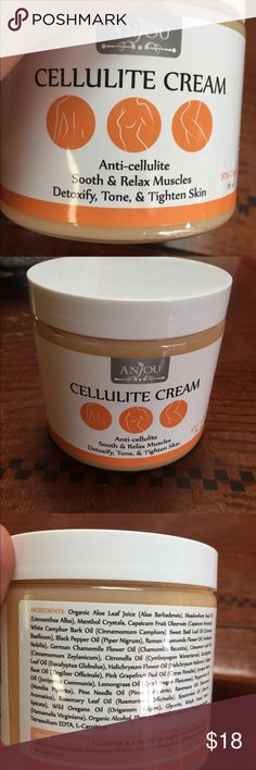 Cellulite Cream/Anti cellulite All the ingredients are listed, this is awesome cream I actually see results from using this product this is my second bottle, but the Menthol is hard for my husband to breath. Anjou Other