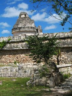 Chichen Itza Mayan ruins not far Cancun