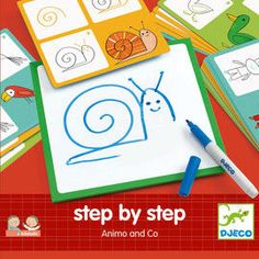 Djeco - Step by step Animals and Co
