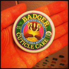 .@maliatko_87  Ура ура! Мой барсучок приехал!) #badger #cuticlecare #iherb #organic #покупки