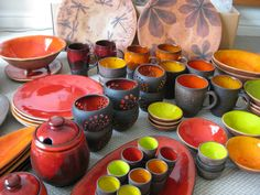 Clay pottery by Ingrida Magone