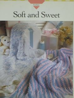 Soft and Sweet Afghan pattern  Vanna's  783 by CarolsCreations77, $2.50