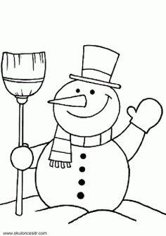 Winter Magic Coloring Book Inspirational Snowman Coloring Pages Holiday Coloring Pages Christmas Coloring Sheets, Printable Christmas Coloring Pages, Coloring Sheets For Kids, Colouring Sheets, Preschool Christmas, Christmas Snowman, Preschool Crafts, Cute Snowman, Snowman Crafts