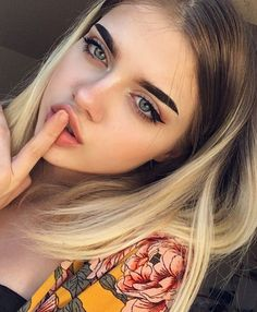 Natural Makeup Ideas That Will Leave You Looking Flawless Beauty Makeup, Eye Makeup, Hair Makeup, Hair Beauty, Make Up Looks, Natural Everyday Makeup, Natural Makeup, Blond Ombre, Grunge Hair