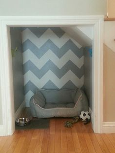 if we have an awkward cubby hole... pets new home!