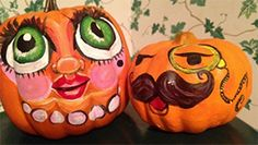 Halloween Pumpkin Carving Template: Goofy Face   eHow.com