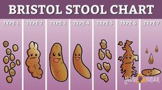 Bristol Stool Chart. Learn what your poop says about your health. Because every health board needs a pin about poop! ;)