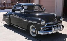 Hemmings Find of the Day 1950 Plymouth DeLuxe three-passenger coupe Plymouth, The Golden Lady, Vintage Cars, Antique Cars, Auburn Hills, Old Cars, Mopar, Cars For Sale, Classic Cars