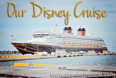 Great post on taking a Disney Cruise!