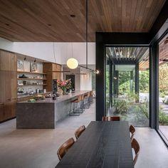 Modern Architecture House, Modern House Design, Modern Interior Design, Amsterdam Architecture, Interior Designing, Design Loft, Küchen Design, Design Ideas, Wall Design