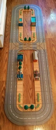 Rare 1999 Tonka Kentoys Village Playset Workshop Store Park benches etc  6' long #TonkaKentoys