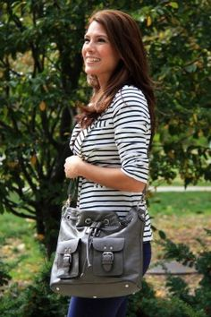 Corktown Handbag by local designer Jenna Kator -- all her gorgeous bags are named after Michigan places!